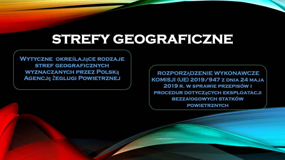 drony strefy geograficzne wytyczne KOMISJI UE 2019 947